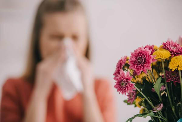 有花粉症,防疫须升级