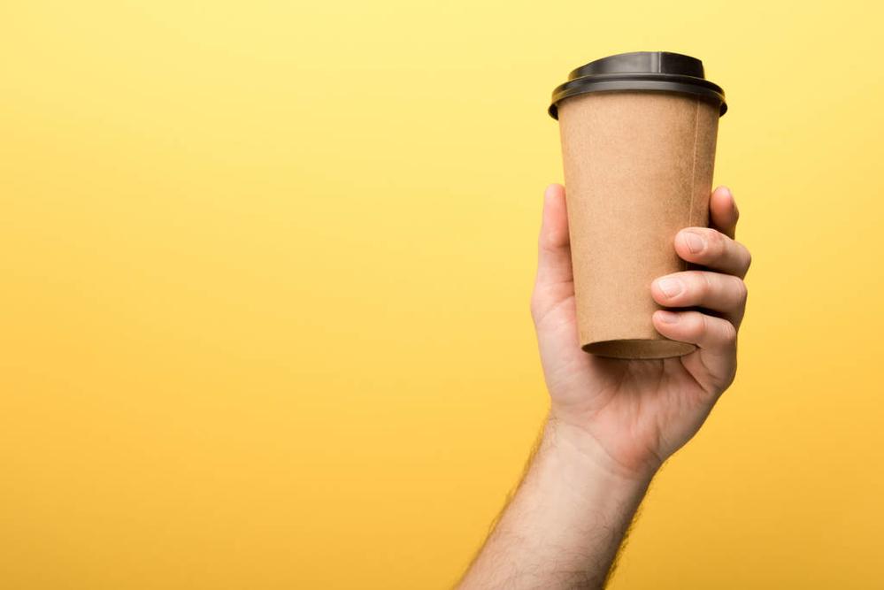 環保發明:咖啡渣也能變身咖啡杯