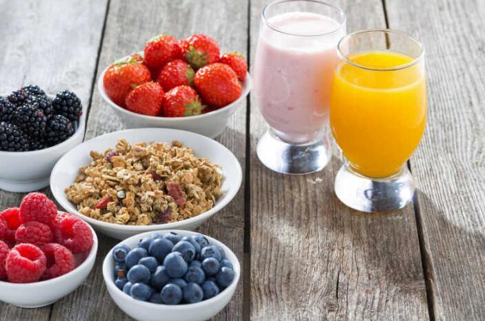 早餐、晚餐之后,各有最佳零食