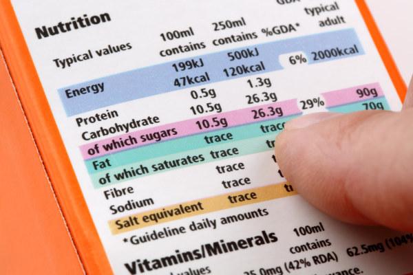 严管食品标签,慢病风险降72%