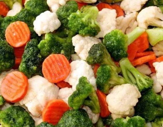 蔬菜冷冻、罐装营养也不差