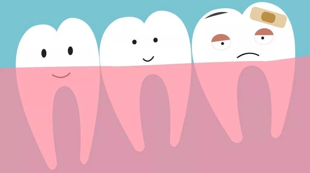常按五穴护牙齿